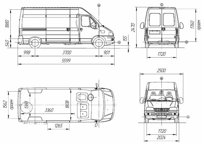 Автопарк для быстрой перевозки грузов