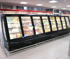 Из Финляндии в г. Омск морозильные шкафы TectoFreeze
